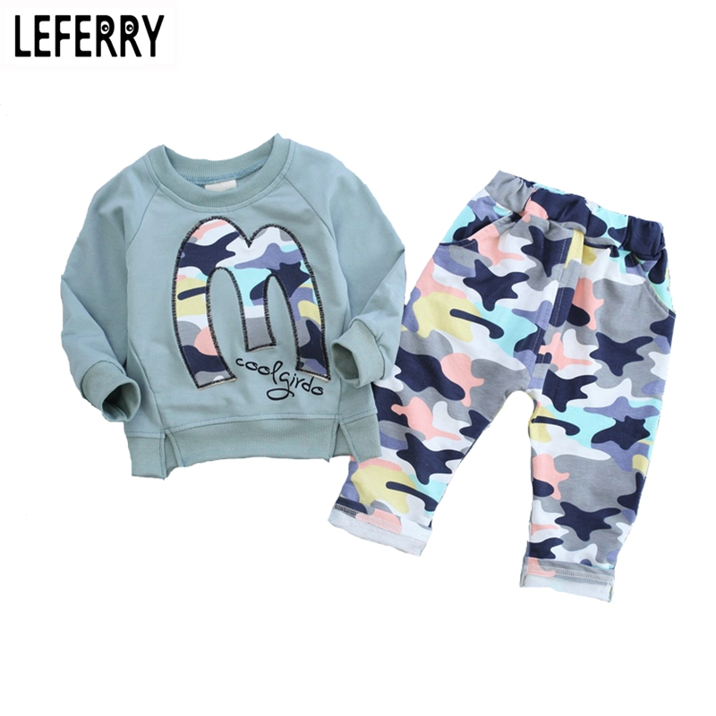 3color Kids Clothes Boys Girls Clothing Set Baby Toddler