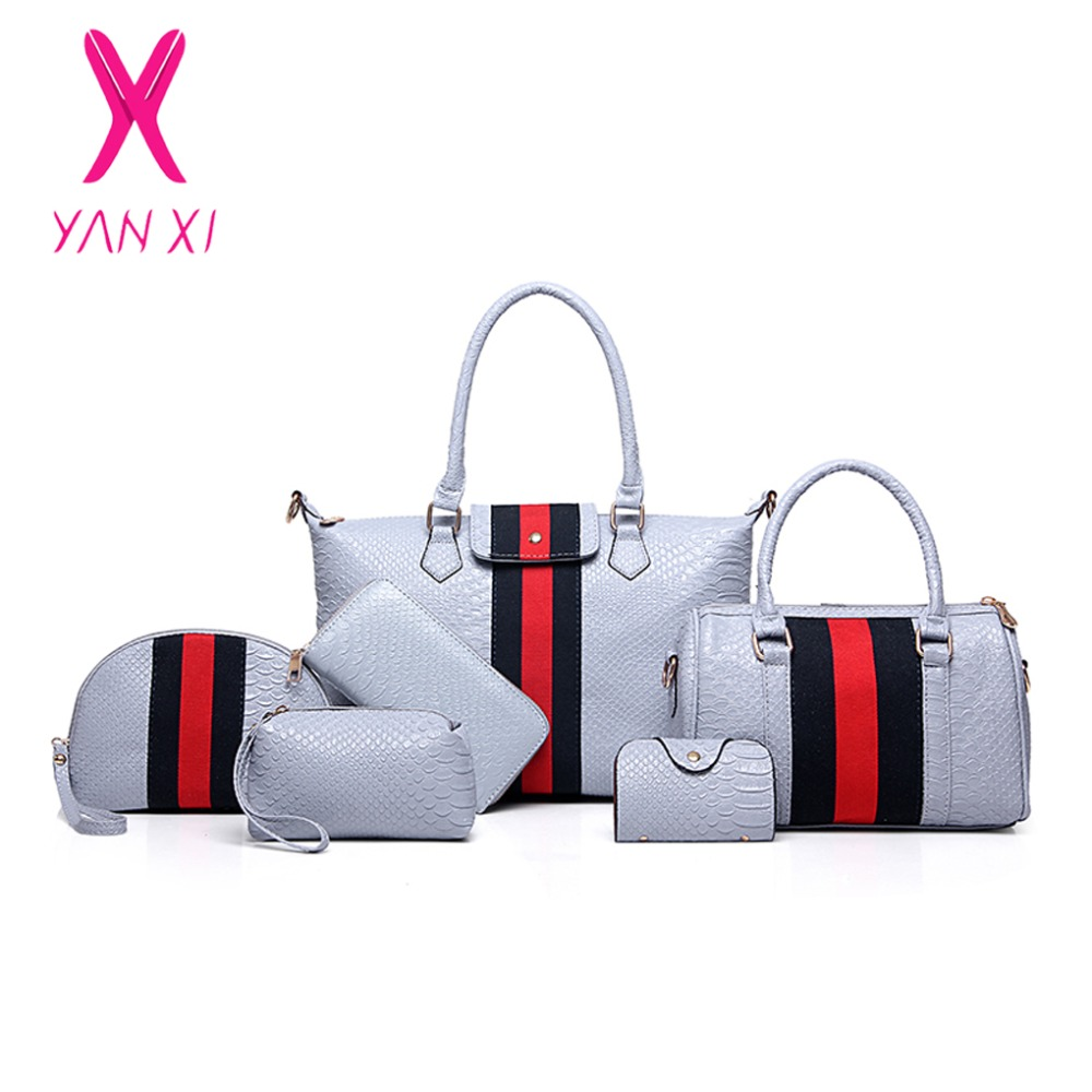 ФОТО YANXI Factory Outlet Fashion Lady Tote Shoulder Day Clutches Designer Purse And Handbags Leather Women Quality PU Composite Bag