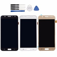 LCD Display Touch Screen For Samsung Galaxy J7 J700F J700M J700H Digitizer Replacement Assembly Tools 100
