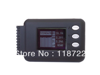 iCharger CELLLOG8S Cell Volt Monitor for 2-8S Li battery individual voltage, NiMH, NiCd, Pb battery icharger 4010duo multi chemistry dc battery charger 10s 40a 2000w