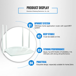 Image 4 - Cioswi wifi router wireless repeater mit Externe antenne high speed rj45 300mbps wlan router wi fi access point mobile hotspot