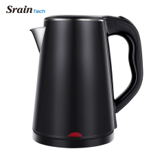 SrainTech 1500W Stainless Steel Electric Kettle with Nice Design 1.8L #304 Food Grade Kitchen Kettles Heating Water in 5 Minutes цена