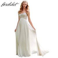 Sexy Chiffon A Line Beach Wedding Dresses Vintage Boho Cheap Bridal Gowns Vestidos De Novia Robe