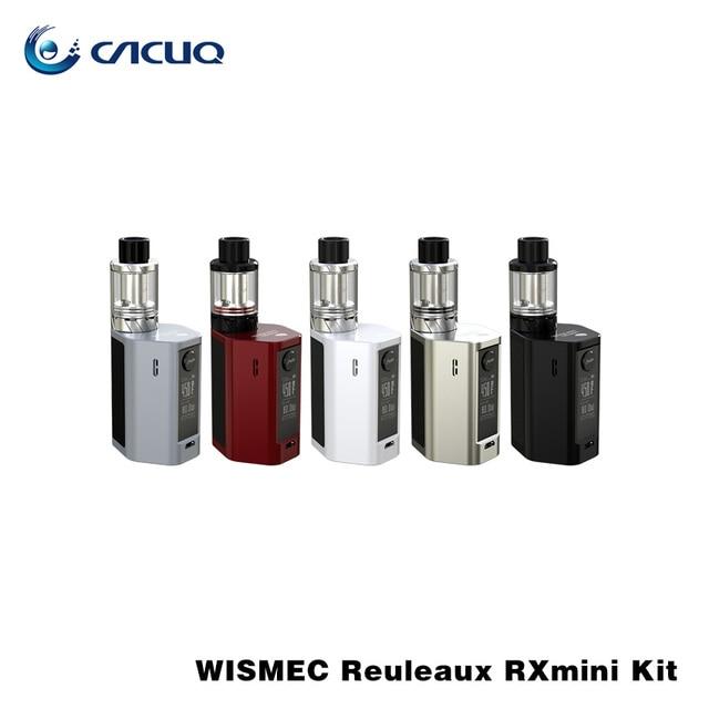 Original Wismec Reuleaux RXmini Kit 80 W Caixa MOD com 2100 mAh Bateria Interna RX mini TC Mod com 2 ml Atomizador Tanque