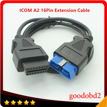 OBD2 16pin Extension Cable for BMW ICOM D Diagnostic Work A2 Motorcycles Motorbikes OBDII