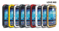 Original Love Mei Powerful Case For Samsung GALAXY S IV S4 I9500 Waterproof Shockproof Aluminum Case