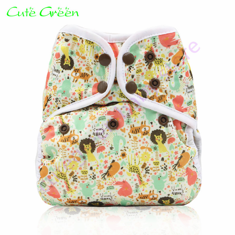 1pc waterproof PUL baby diaper cover;reusable cloth diaper with edge binding and double gussets;washable baby nappies cloth pant ananbaby cloth diaper reusable pocket nappies washable modern cloth nappy pul diaper cover 100