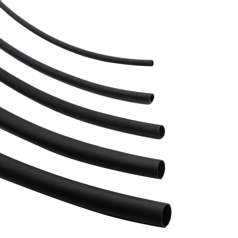 Dia.1//2//3//4//6//8//10//20//25//40//50mm Heat Shrinkable Tube Shrink Tubing Wire Sleeve
