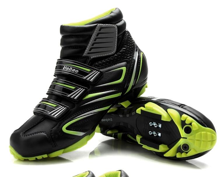 Tiebao scarpe da ciclismo per le donne & uomini inverno ciclismo mtb bike scarpe autobloccanti bicicletta boot sapatilha ciclismo zapatillas