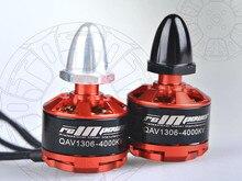 RCINPOWER 1306 3100KV 4000KV Motor Brushless Motor para MINI 130 180 fpv quadro corridas de QAV Zangão