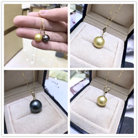 Free Shipping Solid 18k Yellow Gold Pearl Pendant Connector,Cup And Peg Bead Cap,Dangle Gold Jewelry Making ,No pearl No chain