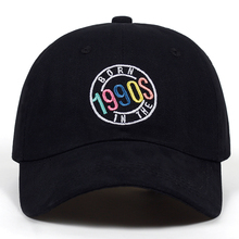 born in the 7990s embroidery cap men and women fashion dad h