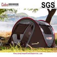 Fastcamp for 2~3persons (Gray) One touch,pop up,Family Tent