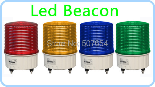 ,4W Led strobe warning light,beacon,emergency lights for police, ambualnce, fire,machine,waterprrof IP44