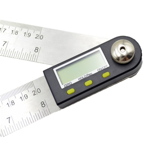 Level Measuring Tool Electronic Angle Gauge Stainless Steel Angle Ruler 200mm Digital Protractor Inclinometer Goniometer