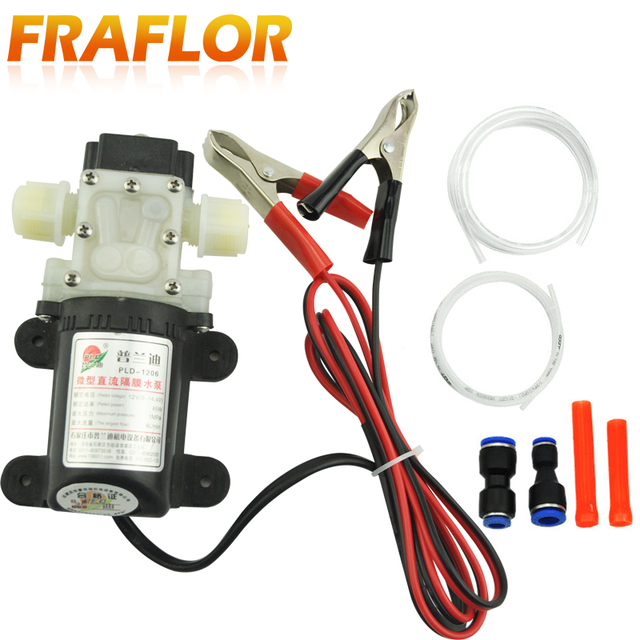 Professional Electric Dc 12v Oil Pump Sel Fuel Engine Extractor Transfer Ed Switch Car Camping Portable
