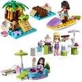 Building blocks City Girl Stephanie Mia Olivia Andrea Emma Andrea minifigs Learning Toy Gift Best Kids Xmas Gifts Friends