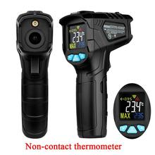 Handheld Infrared Thermometer Color Screen LCD Digital Temperature Meter Non-contact Multi-functional Temperature Detector original non contact temperature es1 pro
