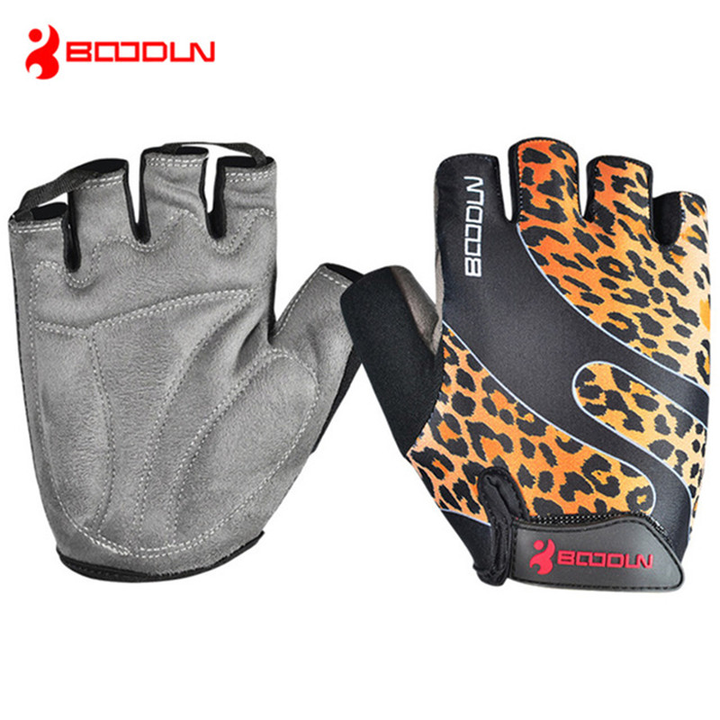 BOODUN 2016 Unisex Summer <font><b>Mountain</b></font> <font><b>Bike</b></font> Bicycle <font><b>Gloves</b></font> <font><b>Gel</b></font> Pad Half Finger Nylon Cycling <font><b>Gloves</b></font> S-XXL guantes ciclismo luva image
