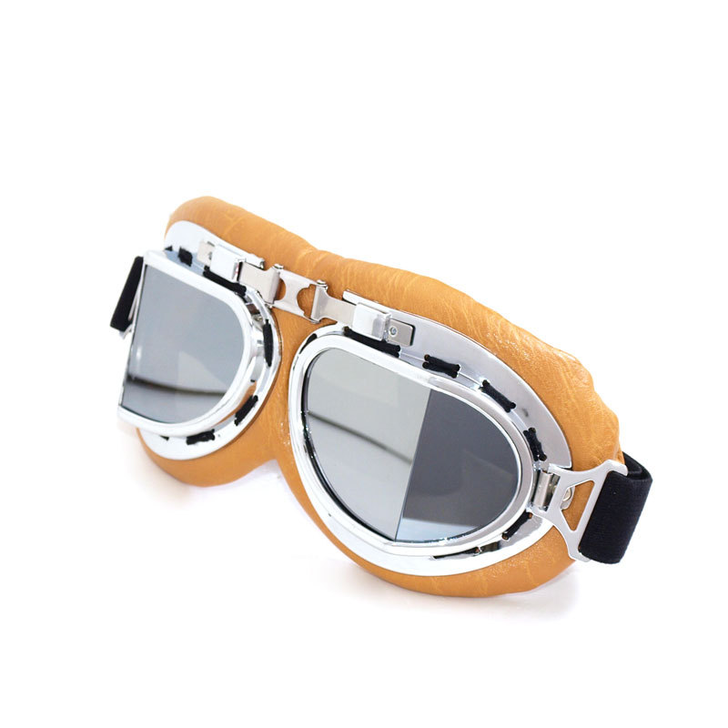 Carting Motorcycle Glasses Scooter Goggles Pilot Ski Dirt Bike Cycling Lens Frame Goggles Motocross Glasses Sunglasses Off-Road