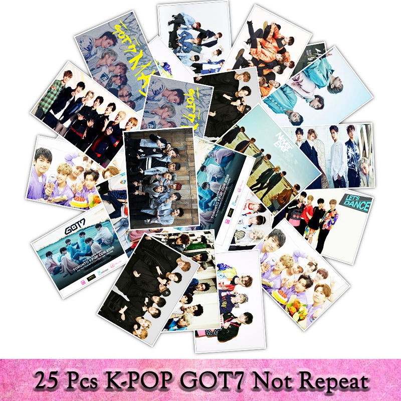 Us 2 05 18 Off 25pcs Pack K Pop Team Got7 Poster Graffiti Sticker Toys The Suitcase Stickers For Laptop Decals Stickers In Stickers From Toys