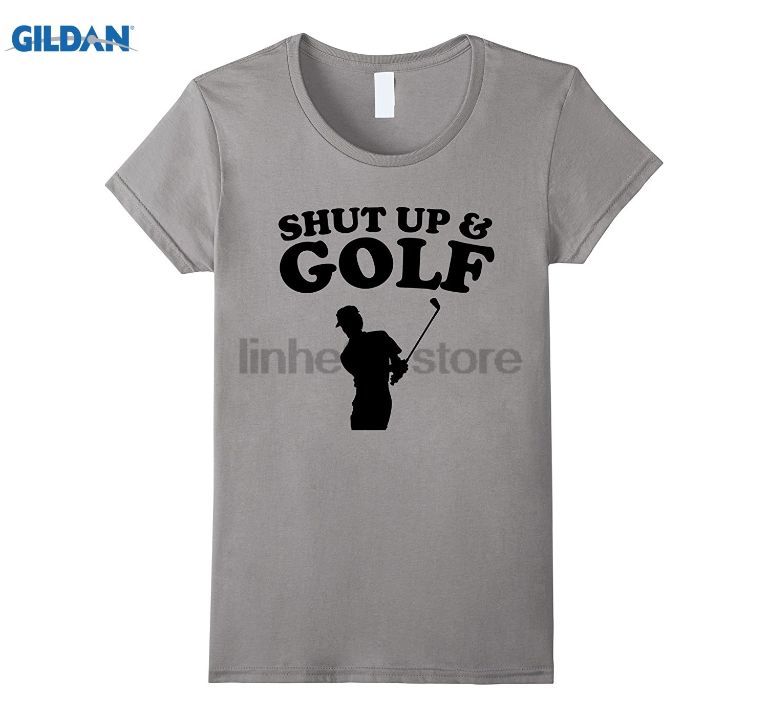 GILDAN Shut Up And Funny Golfing T-Shirt sunglasses women T-shirt dress T-shirt