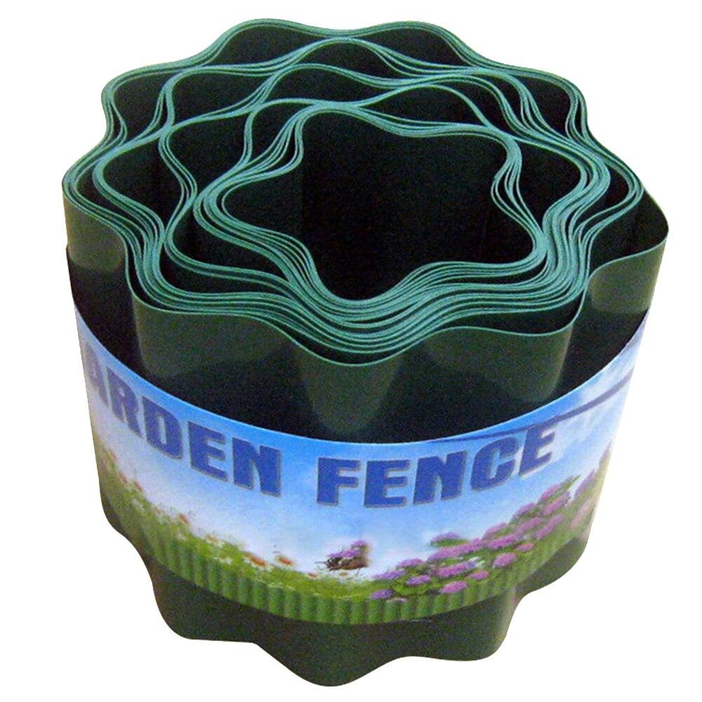 Palisade Fence Garden Decorative Ripple Shape Flexible Easy Installation Lawn Edging Grass Wall Durable Courtyard DIY Path
