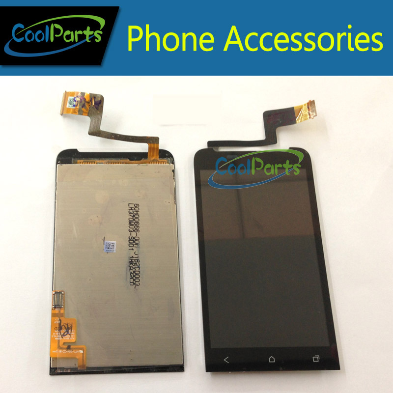1PC/Lot  For HTC G24 T320E One V LCD Display and Touch Screen Digitizer Black Color Free Shipping