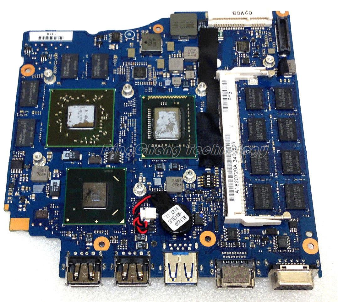 MBX 237 laptop Motherboard For Sony MBX-237 SR041 V030 1P-0111200-A013 for intel i7 cpu with non-integrated graphics card