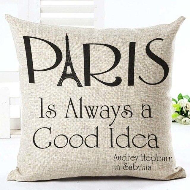 Home Linen Pillowcase Size: 45cm WT0057 Color: 8