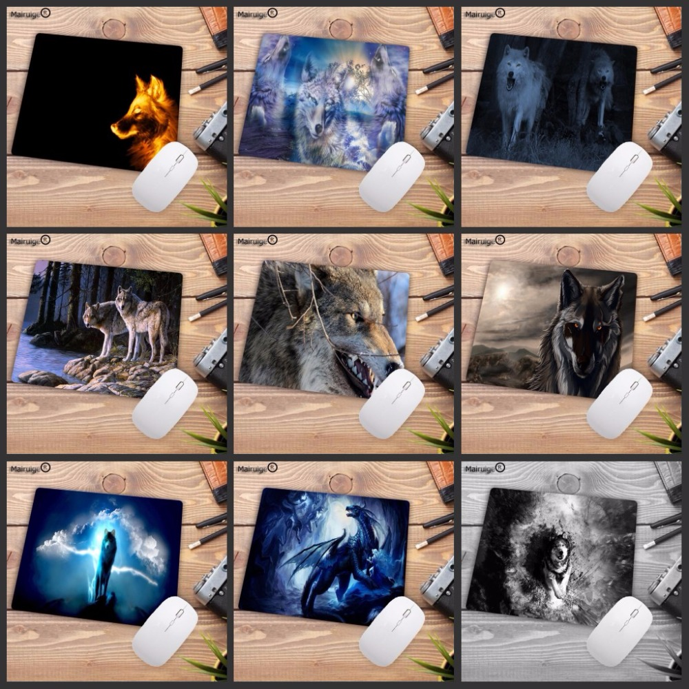 Mairuige Big Promotions For Russia Large Gaming Wolf Light Forest  Design Pattern Computer Mousepad Gaming Mouse Pad For Wolf