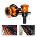 Orange con logo motocicleta basculante carretes deslizante soporte tornillos para ktm duke 125 200 390 duke