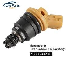 Топливный инжектор для Subaru STI WRX GC8 2.5L двигателя 16600-AA170 16600AA170 топливной форсунки