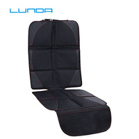 LUNDA OXFORD Luxury Car Seat Protector Child or Baby Auto Seat Protector Mat Protection For Car Seats Black Leather