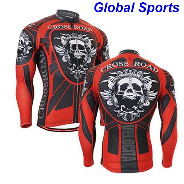 2017 tall mens clothing for cycling Christmas gifts for heavy big men rider  jackets clothes long sleeve jersey fc70ea17c
