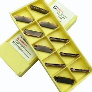 Image 4 - 10 adet MGMN300 H LF6018 CNC kesme bıçağı çelik/paslanmaz çelik/dökme demir ekleme araçları bıçak