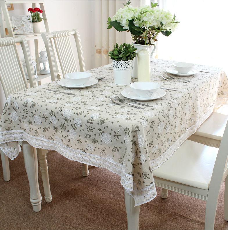 Aliexpress Com Buy Linen Table Cloth Tablecloth Table