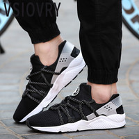 VSIOVRY Classic Men Sneakers Summer New Flats Casual Shoes Unisex Breathable Mesh Outdoor Krasovki Comfortable Trainers