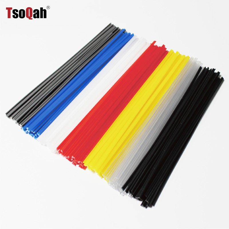 Black/Blue/Yellow/Red/White PP PPR ABS PE Plastic Welding Rods Car Bumper Repair Floor Solder Soldering Sticks Electrodes