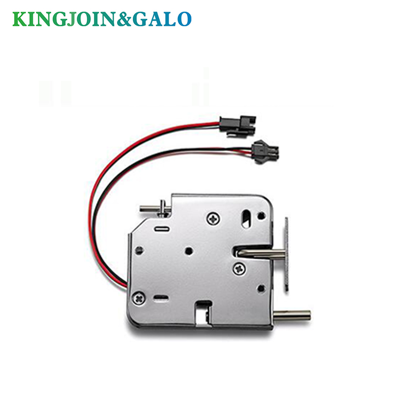 DC 12V 2A Electromagnetic Lock Electronic Locks For Locking Sell-Machine Storage Shelf File Cabinet Locker Lock With Bouncer