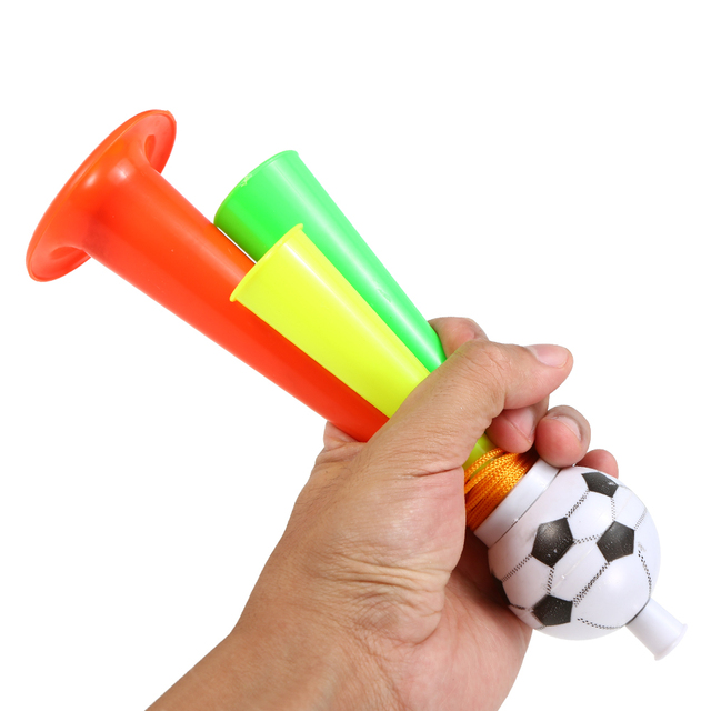 Soccer Fans Trumpet Fan Cheer Bugle Football Sports Game Toy Horn Random Color Soccer Hair Fans Football Accessories