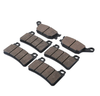 6 PCS Motorcycle Rear Front Brake Pads For HONDA CBR 600 RR 2005 2006 Disc