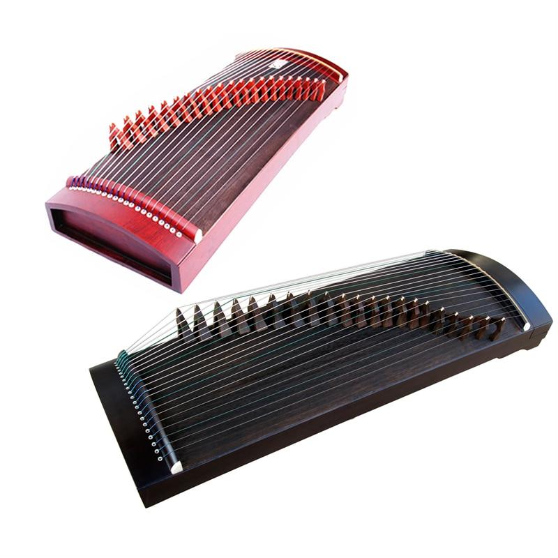 Vente chaude Portable Mini professionnel Guzheng 90 cm chinois National 21 cordes Instruments de musique Guzheng avec accessoires