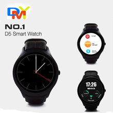 NO. 1 D5 Android 4.4 Bluetooth GPS Smart Uhr mit Herz Rate Monitor Google Play + GPS 4G ROM 512 Mt RAM SmartWatch