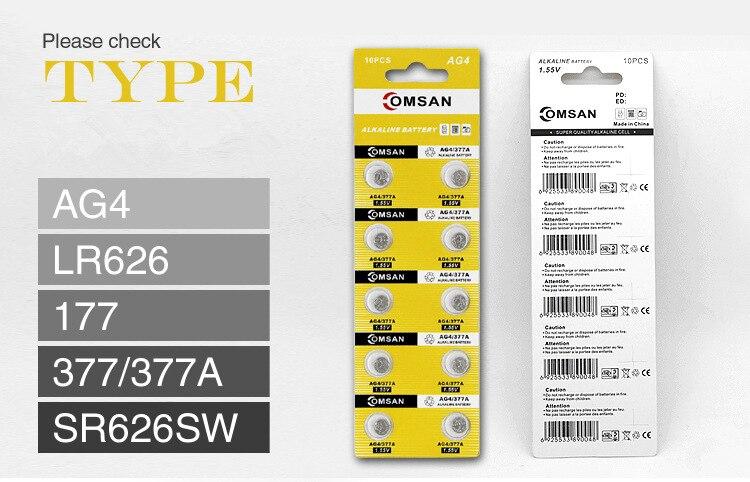 Новая батарея для кварцевых часов, литий-ионная мощность для часов, подарок Quanlity, Кварцевые батареи для мужских часов или женских часов