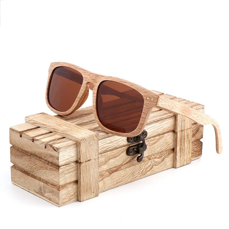 Comprar Óculos de sol dos homens do vintage Viajar praia Mulheres Marca  Designer Polarized UV400 de madeira De madeira de Bambu óculos de sol oculos  de sol ... 986ad77aa3