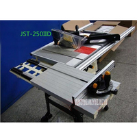 JTS 250IID Multi function Electric Table Saw Precision Sliding Table Saw Woodworking Trimming Table Sawing Machine 220V 1800W