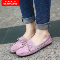Big Size Women Flats Candy Color Woman Loafers Spring Autumn Flat Shoes Women Zapatos Mujer Plus Size 35-41 CC-014
