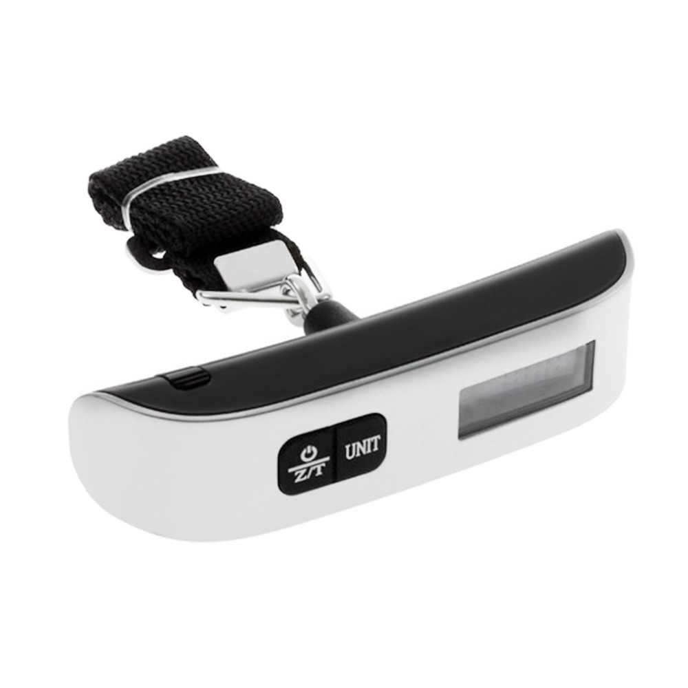 2018 nueva pantalla LCD portátil electrónica colgante Digital equipaje pesaje balanza 50 kg/110 lb peso Venta caliente