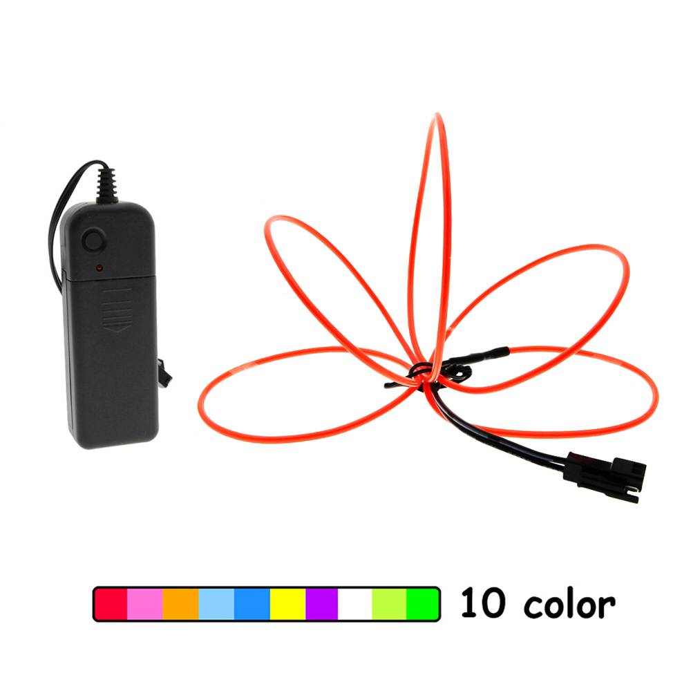 Aliexpresscom  Buy Car Flexible El Wire 2M Neon Lights -4552